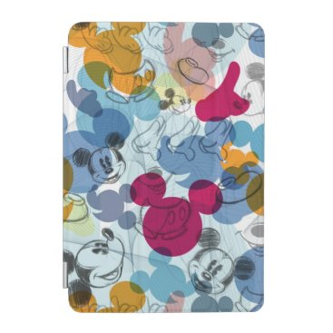 Mickey & Friends | Mouse Head Sketch Pattern iPad Mini Cover