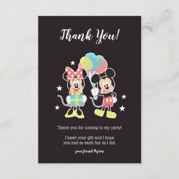 Mickey & Minnie | Time to Party - Thank You