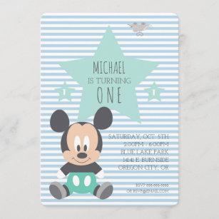 mickey mouse invitations zazzle