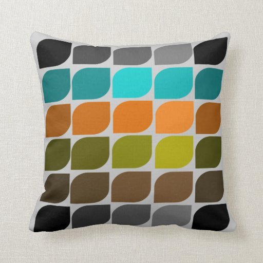 MidCentury Modern Inspired Pillow 34  Zazzle
