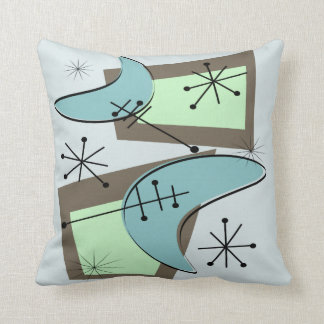 Mid Century Pillows  Decorative  Throw Pillows  Zazzle