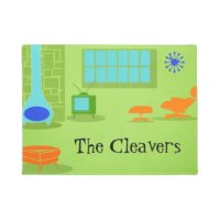 Mid Century Modern Doormats & Welcome Mats | Zazzle