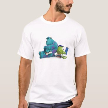 Mike and Sulley Reading T-Shirt