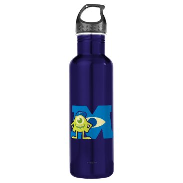 Mike M Logo Water Bottle