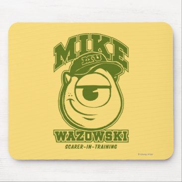 Mike Wazowski - Scarer in Training Mouse Pad