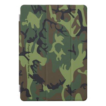 Military Camouflage Pattern iPad Case