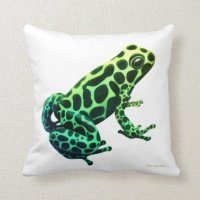 Mimic Poison Dart Frog Pillow | Zazzle