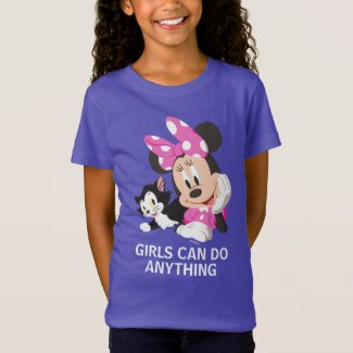 Minnie | Girls can do Anything T-Shirt