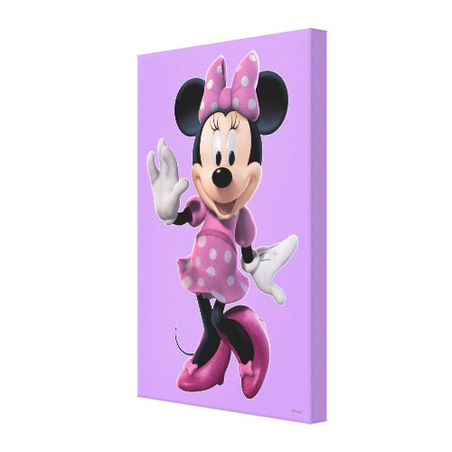 Minnie Mouse 1Canvas Print