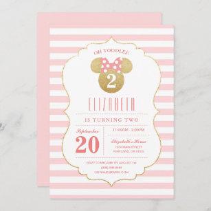 minnie invitations zazzle