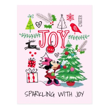 Minnie Mouse | Minnie's Christmas Joy Postcard