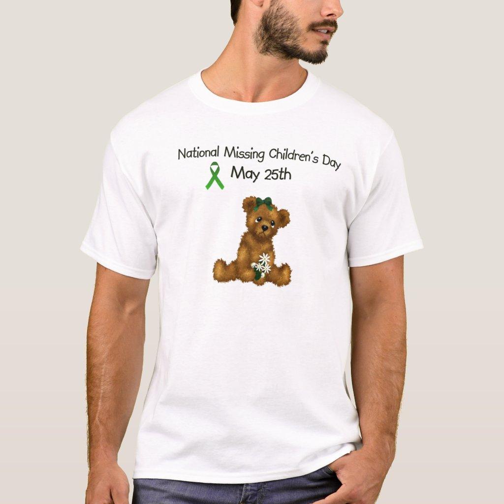 Missing Children's Day Men's Basic White T-Shirt