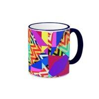 Mix #227 - Colourful Mug   Zazzle
