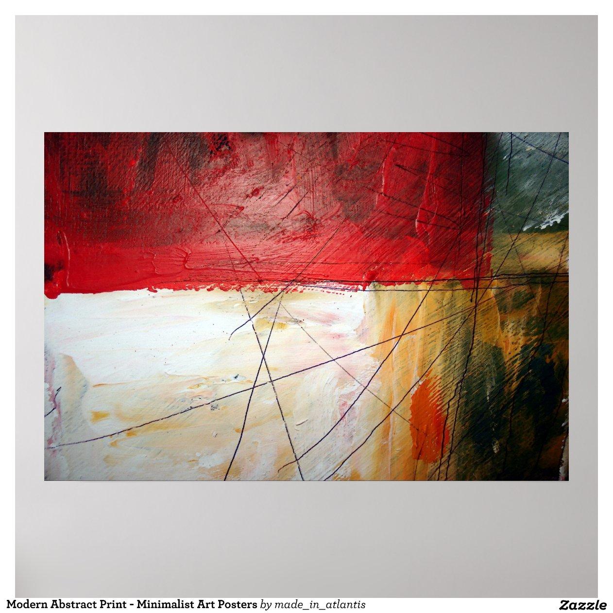 Modern Abstract Minimalist Art