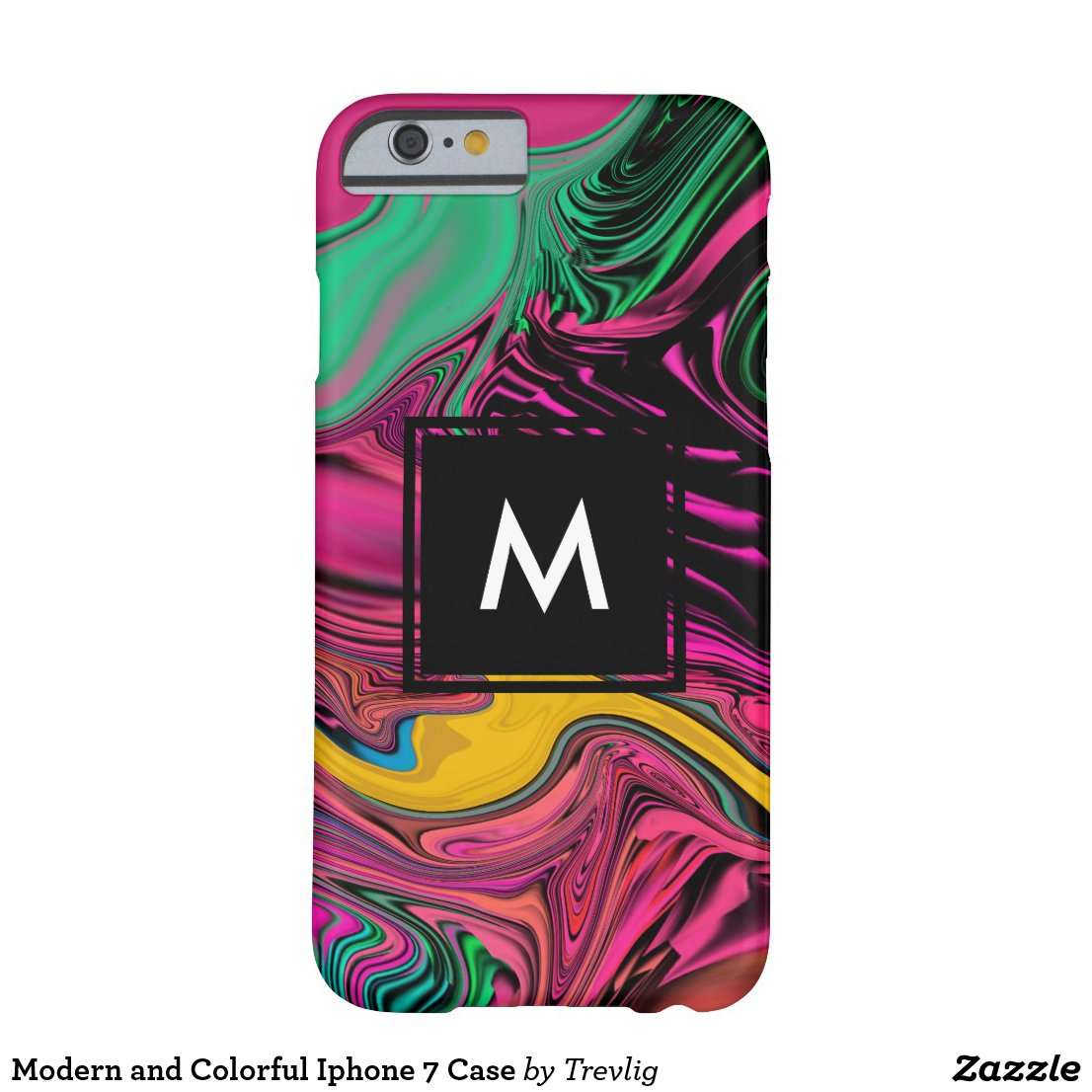 Modern and Colorful Iphone 7 Case