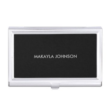 Modern and Minimal Professional Business Card Case