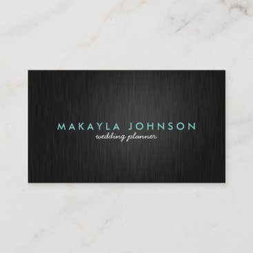 Modern and Minimal Professional Wedding Planner Business Card