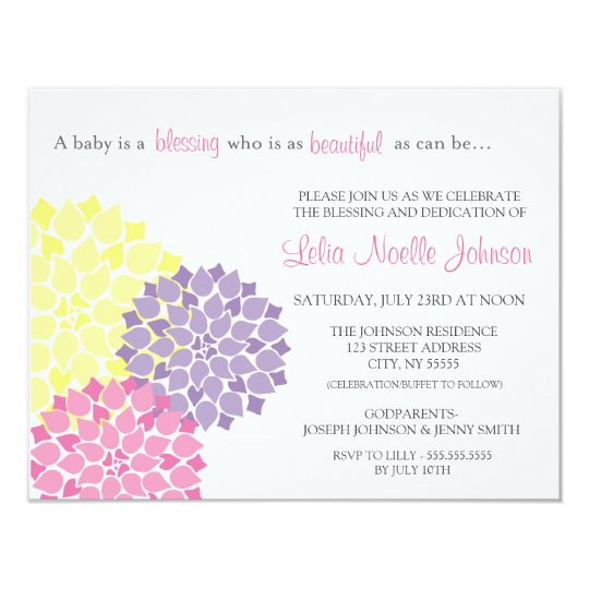 How Make Invitation Card Christening