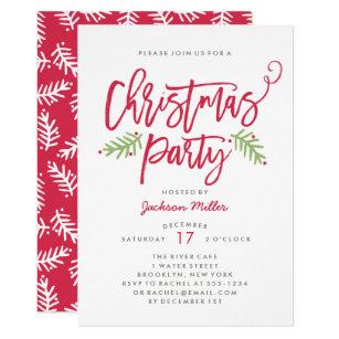 Holiday Party Invitations   Zazzle