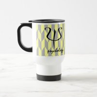 Modern Design Psychology Travel Mug | Zazzle