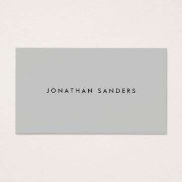 MODERN & MINIMAL No. 3 Business Card