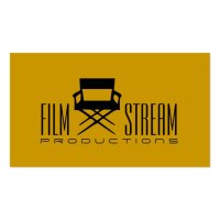 Modern Movie Director Chair Film Producer Business Card ...
