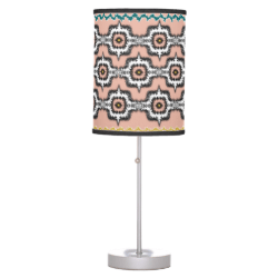 Modern Stylish Moroccan Style Repeat Pattern Table Lamps
