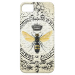 Modern vintage french queen bee iPhone SE/5/5s case