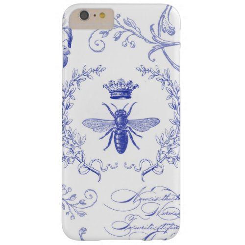 modern vintage french queen bee iphone case