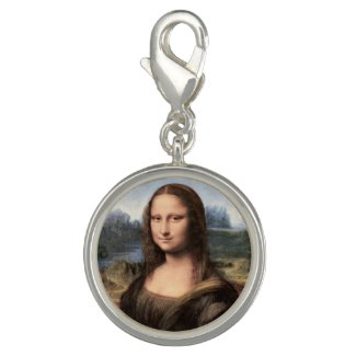 Mona Lisa Portrait / Painting Charm
