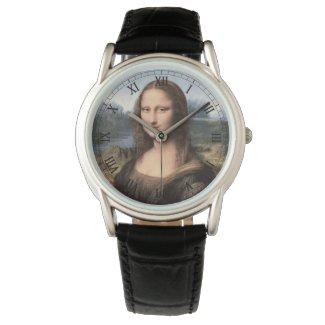 Mona Lisa Portrait Painting Watch