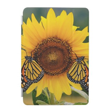 Monarch Butterfies on Sunflower iPad Mini Cover
