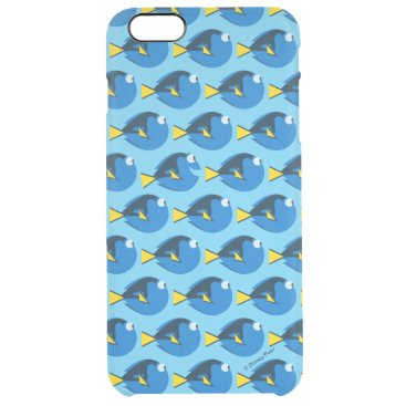 Monogram Finding Dory Pattern 2 Clear iPhone 6 Plus Case