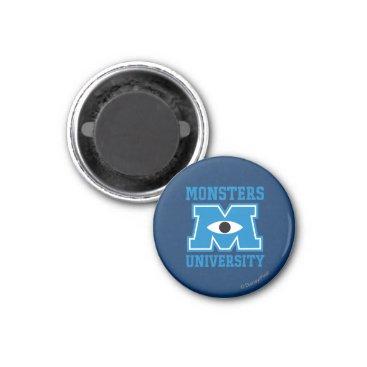 Monsters University Blue Logo Magnet
