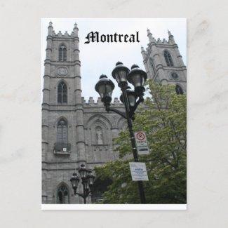 Montreal postcard postcard