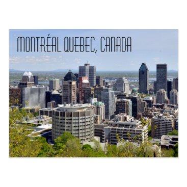 Montréal Quebec Canada Postcard