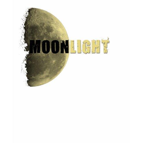 Moonlight Moon & Fleur de Lis back shirt