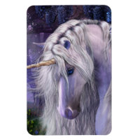 Moonlight Serenade Unicorn Premium Flexi Magnet