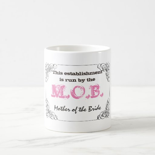 Mother of the Bride Mug