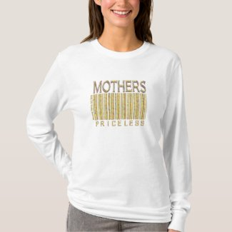 Mothers Priceless - Barcode - Shirt shirt