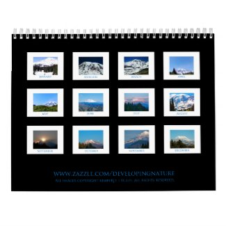 Mount Rainier Calendar