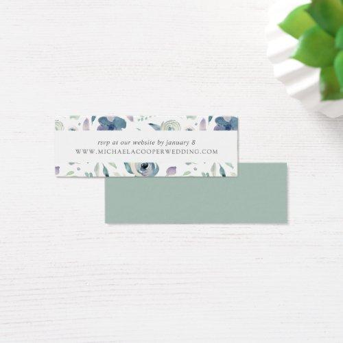 Mountain Meadow Wedding Website RSVP Cards
