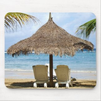 Mousepad in Paradise