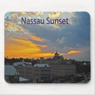 Mousepad Nassau sunset