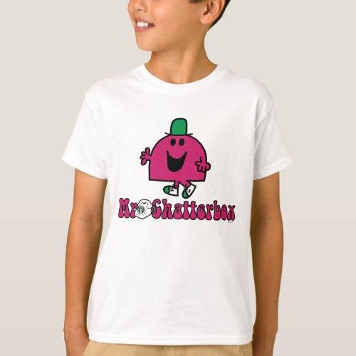 Mr. Chatterbox Logo & Telephone T-Shirt