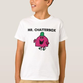 Mr. Chatterbox Waving Hello T-Shirt