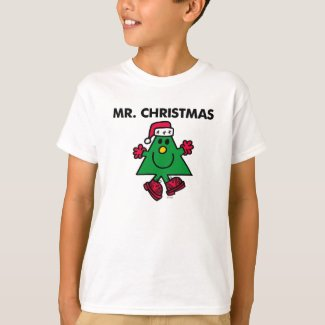 Mr. Christmas | Festive Hat & Gloves T-Shirt