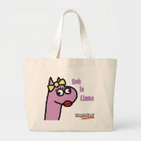 Ms Llama Ooh La Llama Large Tote Bag