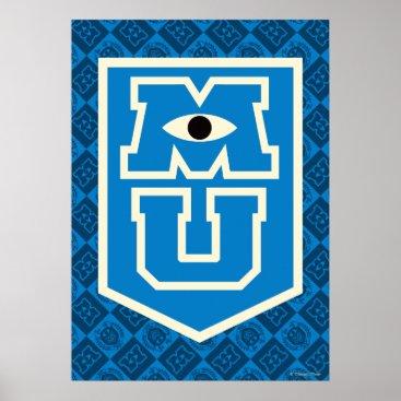 MU Flag Logo Poster
