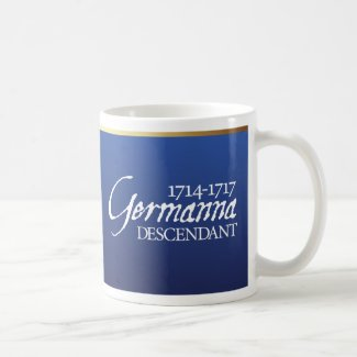 Mug: Germanna Descendant  Coffee Mug